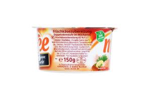 Сыр 66% сливочный с лососем Miree п/у 150г