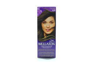 Крем-краска для волос Wellaton Тёмный шоколад №4/0 Wella