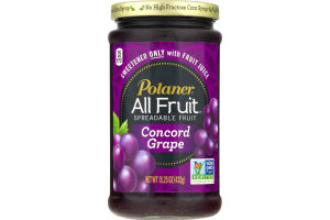 Polaner Spreadable Fruit Concord Grape