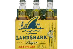 Land Shark Lager Beer Bottles - 6 CT