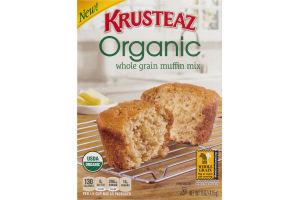 Krusteaz Organic Whole Grain Muffin Mix