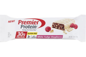 Premier Protein High Protein Bar White Fudge Raspberry