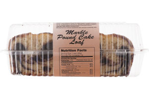 Sweet City Marble Pound Cake Loaf