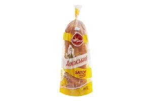 Батон пшеничный горчичный нарезной Дюковский Одеський хлібозавод №4 м/у 600г