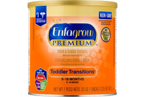 Enfagrow Toddler Transitions Infant & Toddler Formula
