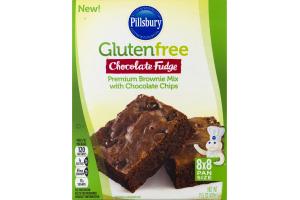 Pillsbury Gluten Free Chocolate Fudge Premium Brownie Mix with Chocolate Chips