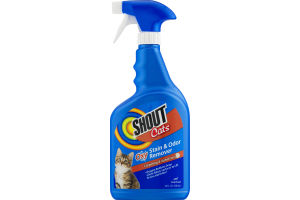 Shout Cats Oxy Stain & Odor Remover Carpeting & Upholstery