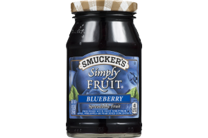 Smucker's Simply Fruit Spread Blueberry
