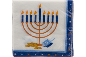 Party Creations Napkins Hannukah - 16 CT