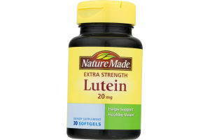 Nature Made Extra Strength Lutein - 30 CT
