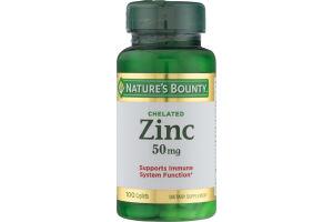 Nature's Bounty Zinc 50 mg Caplets - 100 CT