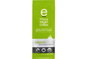 Ethical Bean Coffee Ground Classic Medium Roast