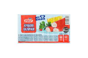 Крабові палички заморожені Vici в/у 200г
