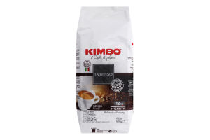 Кава натуральна смажена в зернах Intenso Il Caffe di Napoli Kimbo м/у 500г