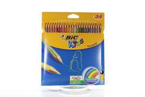 Олівці кол.BIC 24 Kids Tropicolors 2