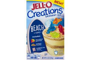 Jell-O Creations Dessert Kit Beach Cups
