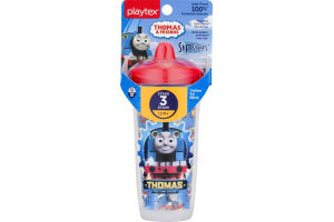 Playtex Sipsters Stage 3 Insulated Spill-Proof Spout Cup Thomas & Friends