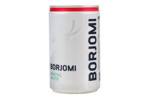 Вода мінеральна сильногазована Borjomi з/б 0.15л