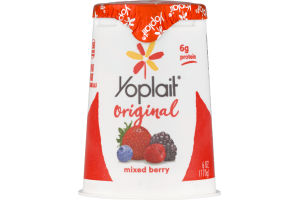 Yoplait Low Fat Yogurt Mixed Berry