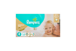 Підгузки Pampers Premium Care 4 Maxi 7-18кг 104