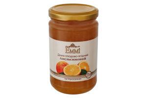Джем пастеризований Апельсиновий Emmi с/б 375г