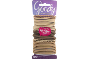 Goody No-Metal Elastics - 30 CT