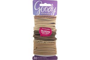 Goody No-Metal Elastics - 30 CT