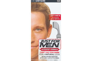 Just For Men AutoStop Formula Easy Comb-in Haircolor A10 Sandy Blond