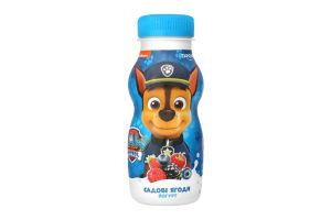 Йогурт 1.5% питний Садові ягоди Paw Patrol Danone п/пл 185г
