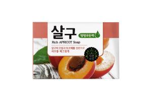 Мило для обличчя і тіла з екстрактом абрикосу Mukungwha 100г