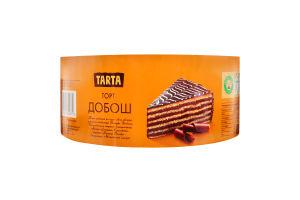Торт бісквітний Добош Tarta к/у 500г