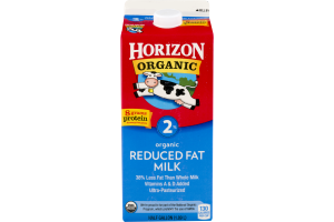 Horizon Organic Milk 2% Reduced Fat