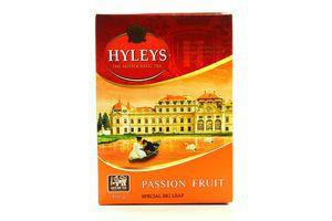 Чай черный крупнолистовой с кусочками маракуйи Плод страсти Hyleys к/у 100г
