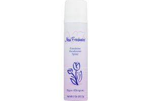 New Freshness Feminine Spray