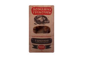 Гренки ржано-пшеничные с луком Домашні гріночки м/у 100г
