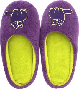 Тапочки-получешки комнатные женские Twins фиолетовый 36-37