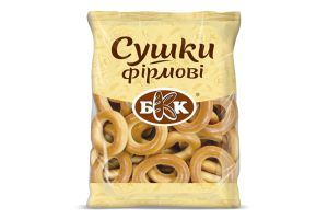 Сушки Фірмові БКК м/у 300г