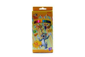 Набор карандашей Cool for School Tom and Jerry 12 цветов к/у арт.TJ02101