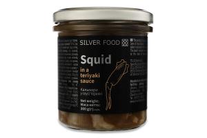 Кальмари в соусі теріякі Silver Food с/б 300г