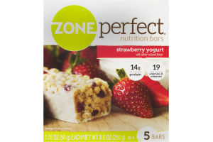 Zone Perfect Nutrition Bars Strawberry Yogurt - 5 CT