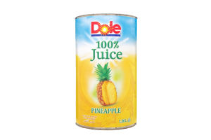 Сок ананасовый натуральный Dole ж/б 1.36л