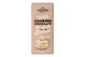 Глазур кондитерська White Cooking Chocolate Chocolatier м/у 200г