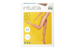 Колготки жіночі Intuicia Classic 20den 2 vizone