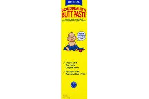 Boudreaux's Butt Paste Original Daiper Rash Ointment