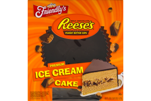 Friendly's Ice Cream Cake Reese's Peanut Butter Cups