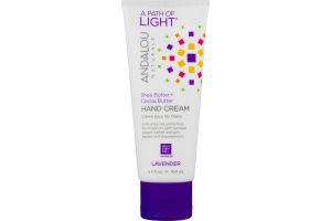 Andalou Naturals A Path Of Light Shea Butter + Cocoa Butter Hand Cream