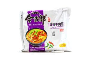 Вермишель VALUABLE в китайском стиле с соусом говядины ОСТРАЯ со спец и овощами105 гр (Китай)