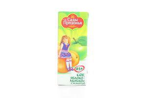 Сок яблоко-абрикос Сады Придонья 200мл