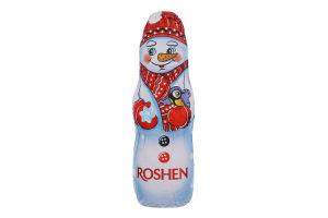 Фігура шоколадна молочна Сніговик Roshen м/у 45г
