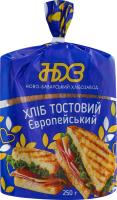 Хліб тостовий Європейський Ново-Баварський хлібозавод м/у 250г